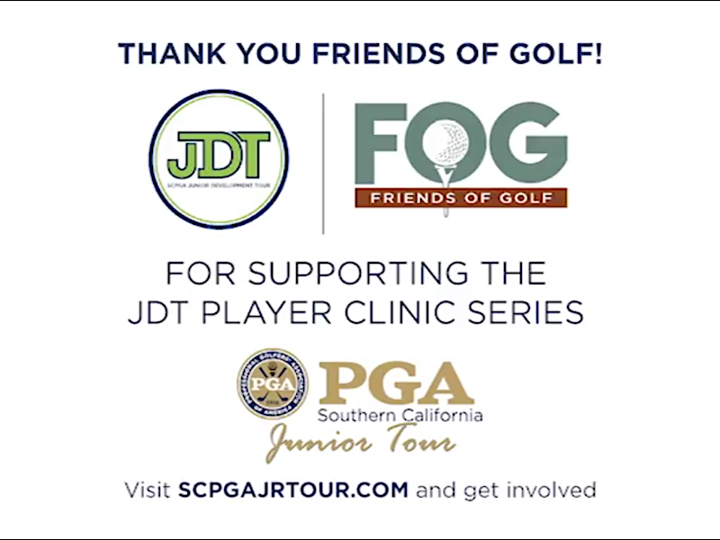 Friends of Golf Support