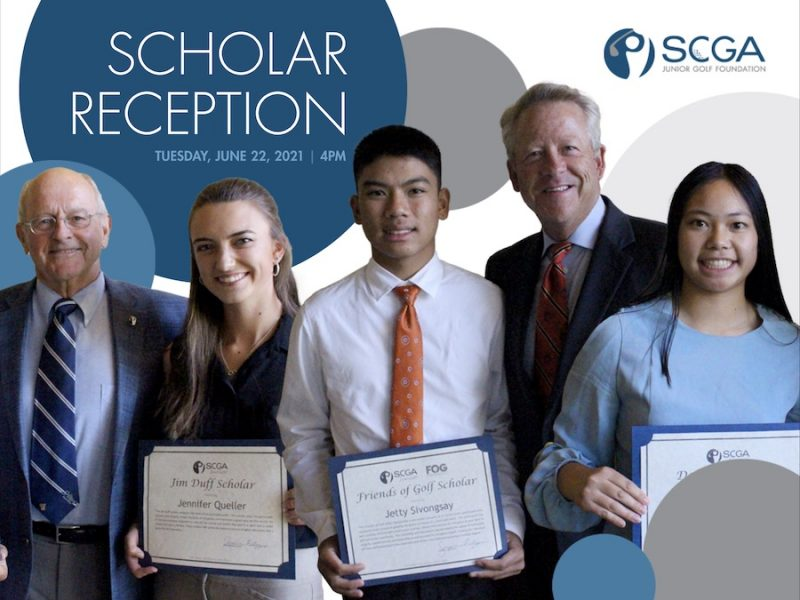 SCGA Junior Friends of Golf Scholar